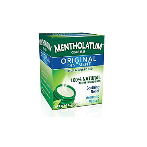 Aromatic Ointment (Mentholatum Original Ointment Soothing Relief, Aromatic Vapors - 1 oz ( Pack of 4))
