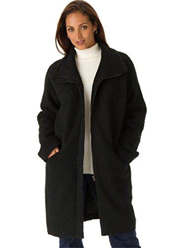 Jessica London Women S Plus Size Boucle Coat