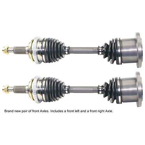 Pair New Front Left & Right CV Drive Axle Shaft Assembly For (Right Axle Shaft)