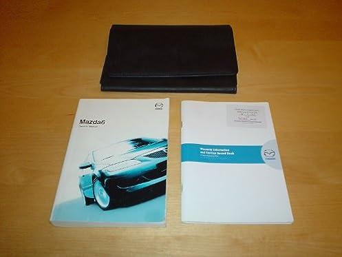 mazda6 mazda 6 owners manual handbook 2002 2008 saloon wagon rh amazon co uk Mazda CX-9 mazda 6 2007 owners manual