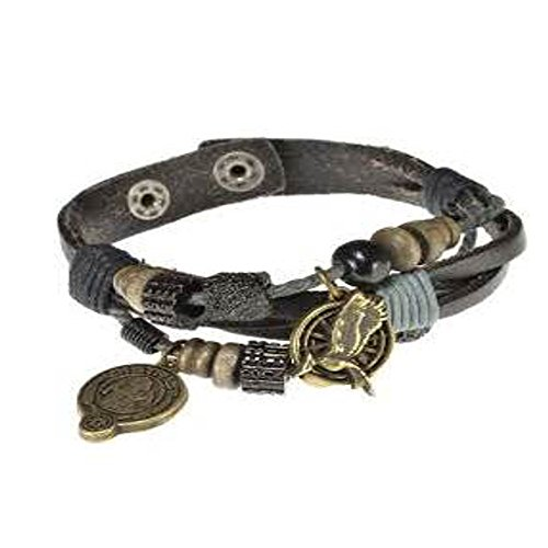 The Hunger Games Catching Fire District 12 Charmed Snap Bracelet - Hunger Snap