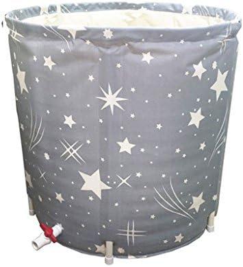 WURE Plástico Plegable bañera Inflable Adulto bebé niños Lavabo Lavable Inicio Productos de baño Desgaste/Sucio / Durable/Fácil de Limpiar (65 * 65cm, 70 * 65cm): Amazon.es: Hogar