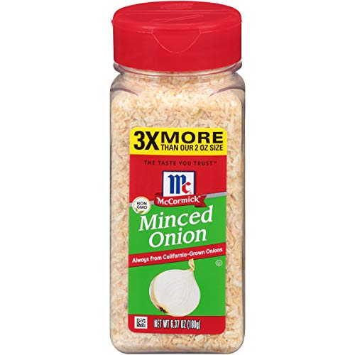 McCormick Minced Onions, 6.37 oz (Pork Chops And French Onion Soup Mix)