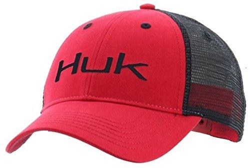 Huk Logo Trucker Cap, Navy/Navy, One Size