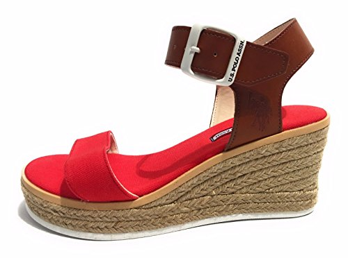 U.S.Polo  Niva, Sandales pour femme ROSSO MARRONE