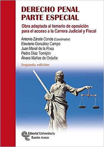 Derecho Penal. Parte Especial por Antonio Zárate Conde epub