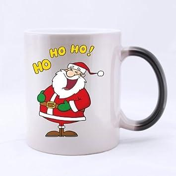 Tazas de 11 onzas de Navidad, Ho Ho de la taza cambio de Color de Papá ...