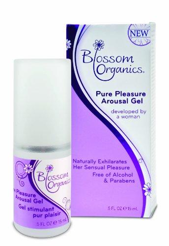Blossom Organics Pure Pleasure excitation Gel, 0,5 Fluid Ounce