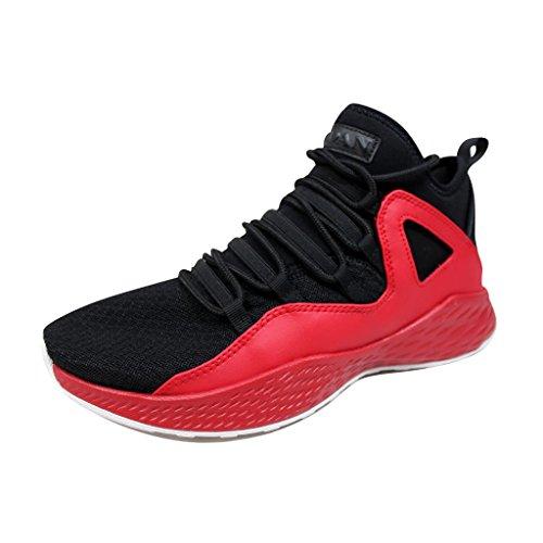 Jordan Nike Mens Formula 23 Basketball Shoe Schwarz-Rot