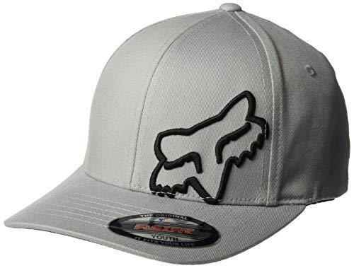 Fox Boys' Big Youth Flex 45 Flexfit HAT, Steel Gray, OS