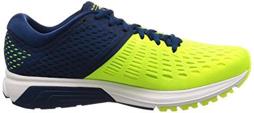 Brooks Men's Ravenna 9 Running Shoes, Ebony/Blue/Orange Multicolored (Nightlife/Blue/Black 1d761)