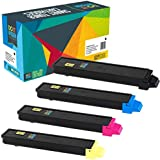 Do it Wiser Compatible Kyocera Ecosys FS C8520MFP FS C8525MFP FS C8520 FS C8525 TASKalfa 205c 255c Toner - TK-897K TK-897C TK-897M TK-897Y - 4 Pack