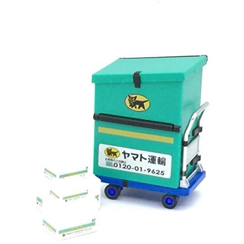[해외]야마토 운 수 검은 고양이 야마토 인감 서 트롤리 형 CSBOX 토르 유형 / Yamato Transport Kuroneko Yamato Seal Stand Truck Type CSBOX Tall Type
