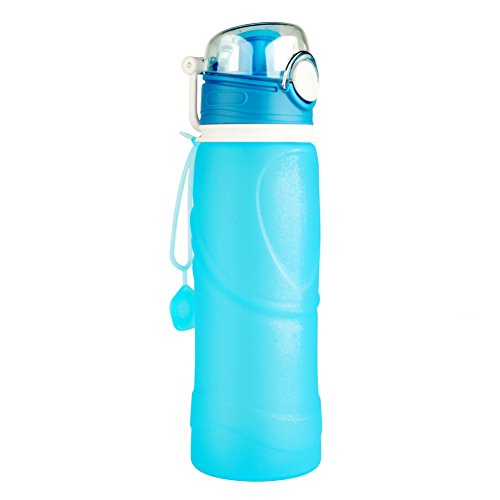 XIN HUO Water bottles,Sports Water Bottles,Fashion Portable Outdoor Water Canteen BPA Free, FDA Approved For Travel Trip Camping Cycling Fishing Climbing Sports by XIN HUO