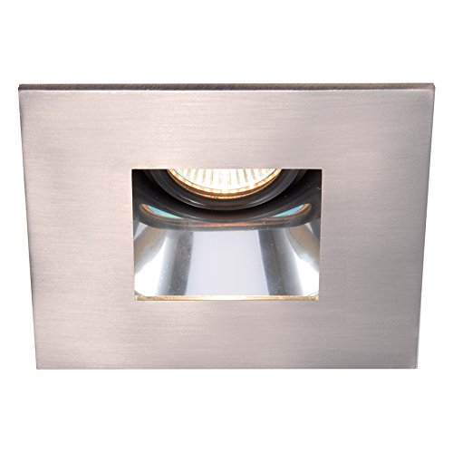 WAC Lighting HR-D412-SC/BN Low Volt Trim Square Recessed Downlights