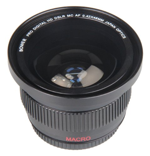 Bower High-Speed Wide-Angle Lens with Macro 0.42x 46mm VL...