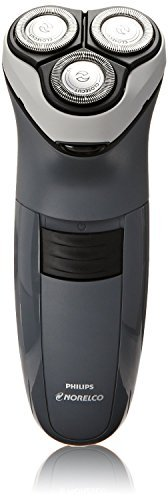 Norelco WORLDWIDE VOLTAGE Electric Men's Shaver with Super Lift and Cut Technology With BONUS FREE OldSpice Body Spray Included