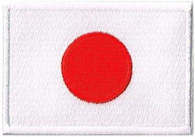 刺繍ワッペン 国旗 日の丸 NO-272 (SSSサイズ約1.8x2.4cm)