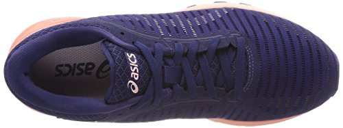 Asics Safety Running Dynaflyte White Aruba Mujer Para Blue 4901 2 Yellow Blanco Zapatillas de SrSWqRpw