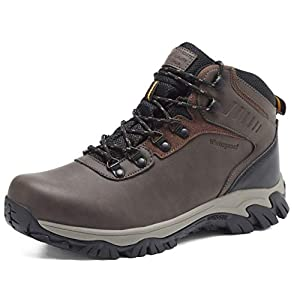 Quicksilk Eyushijia Men's Waterproof Snow Boots Hiking Boot