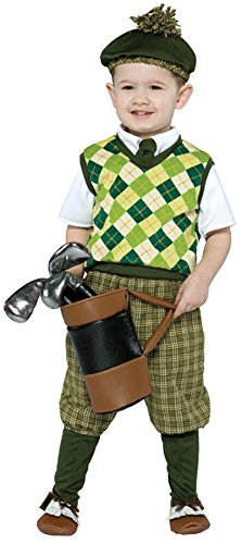 Rasta Imposta Boy's Golfer Sports Future Professional Dress Child Halloween Costume, Child S (4-6) -