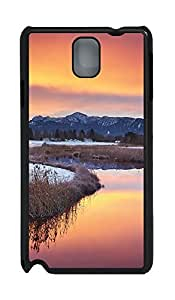 Samsung Note 3 Case Beautiful Scenery Of Australia PC Custom Samsung Note 3 Case Cover Black