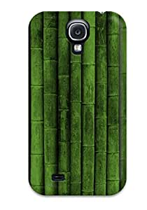 Flexible Tpu Back Case Cover For Galaxy S4 Bamboo