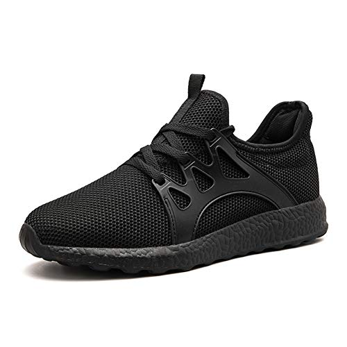 Leader Show Men s Lace Up Casual Breathable Gym Tennis Shoes Athletic Training Running Sneakers