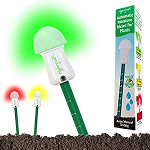 Automatic Soil Moisture Meter for Plants – Automatically tests soil moisture every 2 hours & flashes RED repeatedly when…