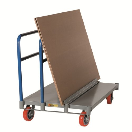 Little Giant APT-2448-6PY Adjustable Sheet and Panel Truck with 6'' Non-marking Polyurethane Wheels, 3600 lbs Capacity, 48'' Length x 24'' Width by Little Giant (Image #1)