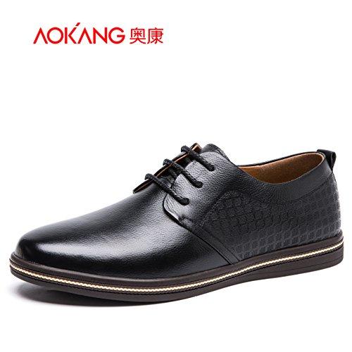 Aemember Hommes Chaussures Business Casual Hommes Chaussures Confortables Dans La Nature De, 43, Noir Souliers