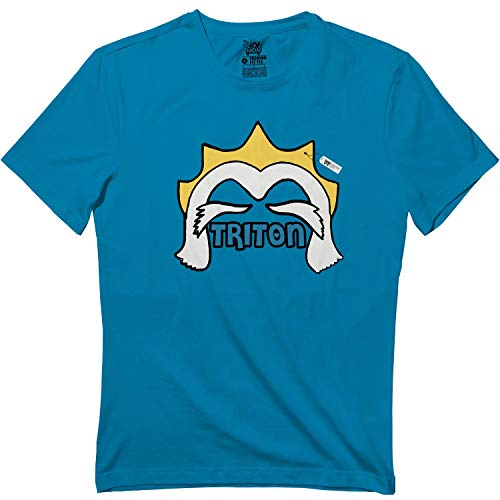 Mermaid Characters-Triton Halloween Matching Outfit T Shirt Sapphire]()