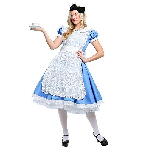 YIBEN Halloween Costume, Alice Fantasy Fairyland Fairy Tale