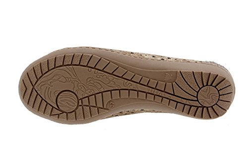 Mujer 1752 Piel PieSanto Cord Calzado Zapato Confort de w7BB5Zxq6