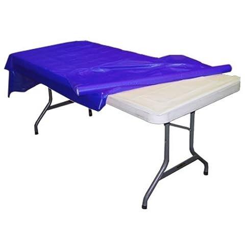 Dark Blue plastic table roll