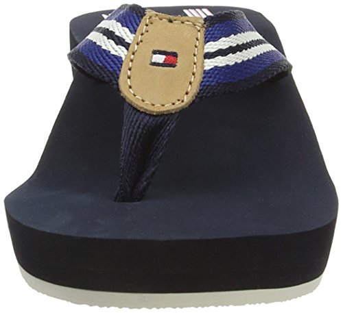 Tommy Hilfiger Mona 9D, Women's Sandals Blue - Blau (Midnight 403)