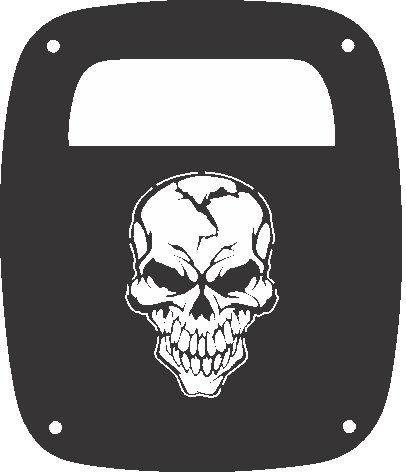 Amazon Com Jeeptails Skull Custom
