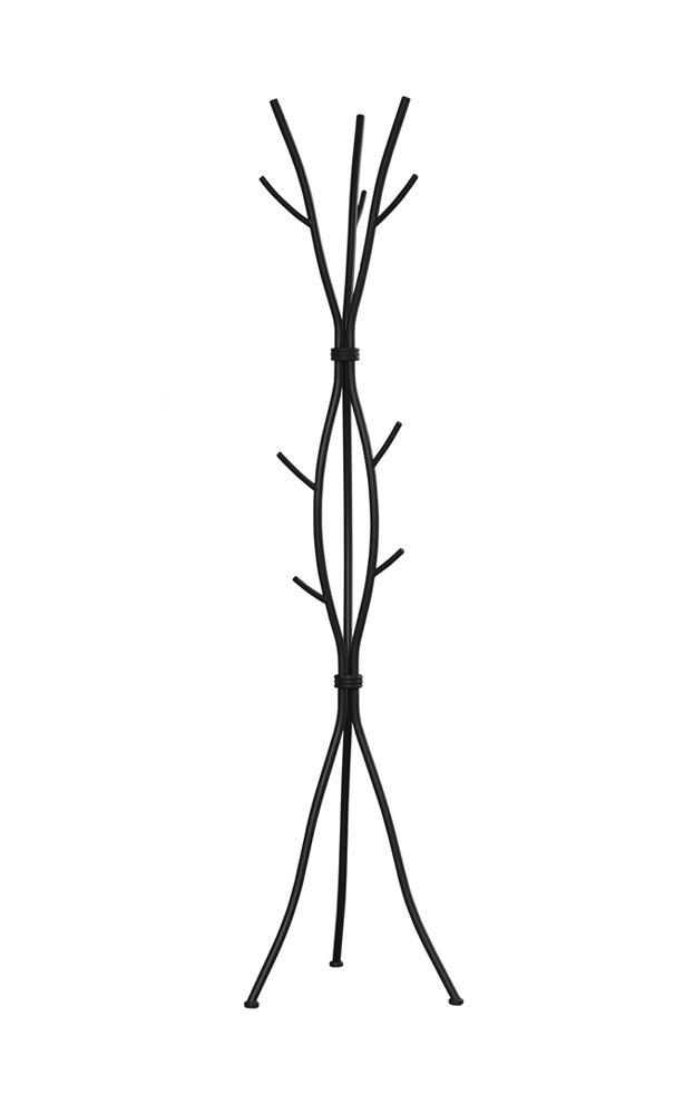 Monarch Hammered Metal Coat Rack, 74