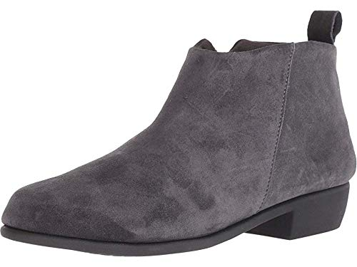 - Aerosoles Women's Step IT UP Ankle Boot, Dark Gray Suede, 7.5 M US