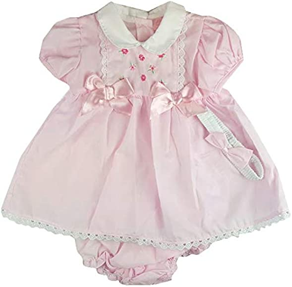 Baby Girl Spanish Style Smock Bow Dress 6 9 Months Pink Amazon Co Uk Clothing,Gray And Beige Bedroom