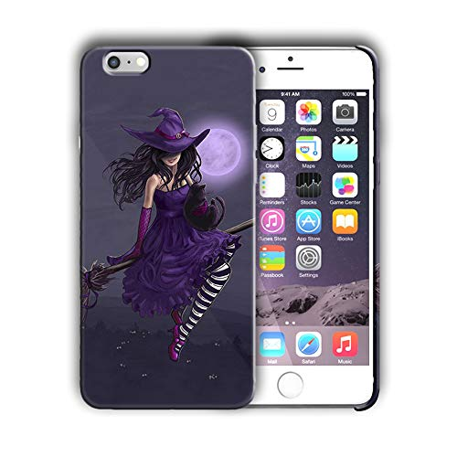 (Hard Case Cover with Halloween Witch Desing Compatible with iPhone 7 / iPhone 8 4.7in (hallo32) )