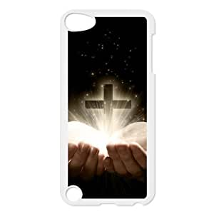 Cross Customized Cover Case with Hard Shell Protection for Ipod Touch 5 Case lxa#867689