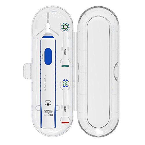 Electric Toothbrush and Heads Travel Case, Protection Box for Braun Oral-B D10 DB4010 pro 600 700 2000 3000 etc. (For Oral-B Series)