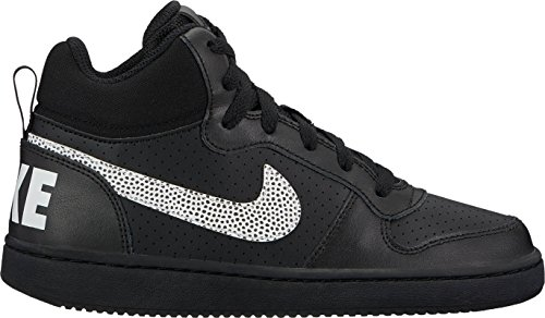 On On 006 black Mid Chaussures De Borough Noir gs Fitness Fitness Fitness Court white Nike Gar TF1w8qn4q