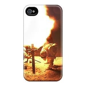 DennisEM Iphone 4/4s Well-designed Hard Case Cover L16 81mm Mortar Protector