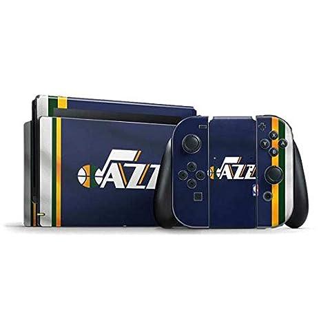save off f896f a835f NBA Utah Jazz Nintendo Switch Bundle Skin - Utah Jazz Team Jersey Vinyl  Decal Skin For Your Switch Bundle