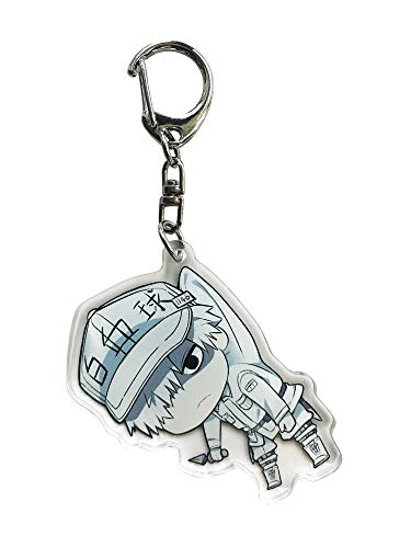 Wildforlife Anime Cells at Work ! Acrylic Cute Keychain Key Ring (White Blood Cell A)