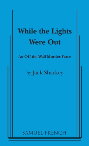 book cover of While the Lights Were Out