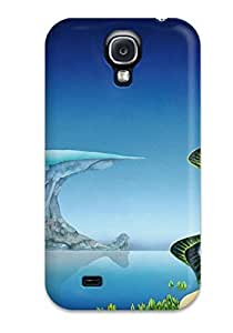 Galaxy S4 Case Cover - Slim Fit Tpu Protector Shock Absorbent Case (yes Sci Fi) by Maris's Diary