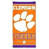NCAA Clemson Tigers 30'' x 60''Beach Towel